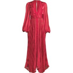 Alexis Women's Salomo Draped Maxi Dress - Red Geo Stripes - Size XS found on MODAPINS from Saks Fifth Avenue for USD $329.30