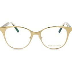 Boucheron Women's 51MM Round Novelty Optical Glasses - Gold Brown found on MODAPINS from Saks Fifth Avenue OFF 5TH for USD $199.99