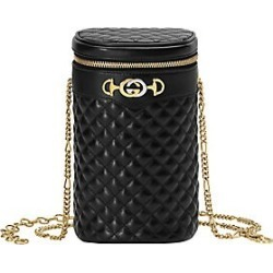 45fb91ef86e367 Saks Fifth Avenue. Gucci Women's Trapuntta Leather Cylindrical Chain Belt  ...
