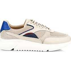 Axel Arigato Men's Genesis Leather Patchwork Sneakers - Beige - Size 43 (10) found on MODAPINS from Saks Fifth Avenue for USD $265.00