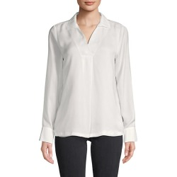 Spread Collar Long-Sleeve Top found on Bargain Bro Philippines from Saks Fifth Avenue OFF 5TH for $39.99