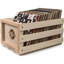 Record Storage Wooden Crate