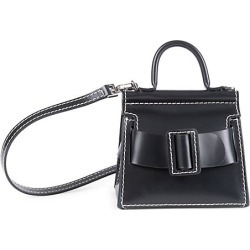 Boyy Women's Bobby Surreal Leather Tote - Black found on MODAPINS from Saks Fifth Avenue for USD $495.00