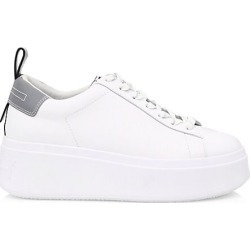 Ash Women's Moon Platform Sneakers - White Silver - Size 41 (11) found on MODAPINS from Saks Fifth Avenue for USD $198.00