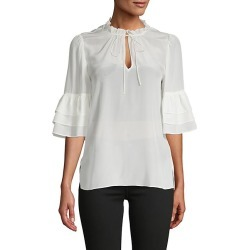 Julius Tiered-Sleeve Silk Tunic found on MODAPINS from Saks Fifth Avenue OFF 5TH for USD $129.99
