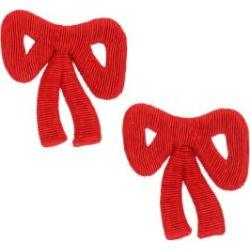 Tie Me Up Corded Bow Clip-On Earrings