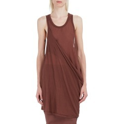 Rick Owens Women's Anthem Draped Tank Top - Throat - Size 4 found on Bargain Bro from Saks Fifth Avenue for USD $285.00