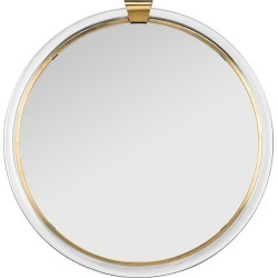 Safavieh Donzel Acrylic Mirror - Brass found on Bargain Bro India from Saks Fifth Avenue for $605.00