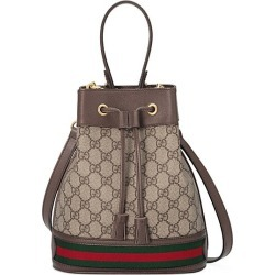 Gucci Women's Ophidia Small GG Bucket Bag - Beige Chocolate found on MODAPINS from Saks Fifth Avenue for USD $1790.00