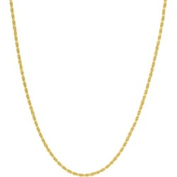 14K Yellow Gold Diamond-Cut Rope Chain Necklace found on Bargain Bro Philippines from Saks Fifth Avenue OFF 5TH for $3530.00