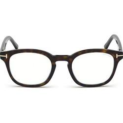 Tom Ford Women's 49MM Soft Square Tortoise Shell Optical Eyeglasses - Havana found on Bargain Bro India from Saks Fifth Avenue for $615.00