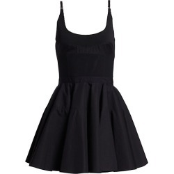 Alexander Wang Women's Poplin Fit & Flare Dress - Black - Size 6 found on MODAPINS from Saks Fifth Avenue for USD $695.00