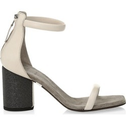 Monili-Heel Leather Sandals found on Bargain Bro from Saks Fifth Avenue Canada for USD $475.52