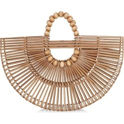 Cult Gaia Women's Ark Fan Bamboo Top Handle Bag - Natural found on MODAPINS from Saks Fifth Avenue for USD $248.00