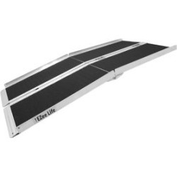 Foldable 8-Feet Portable Ramp with Grip Tape