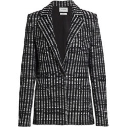 Woven Notch-Collar Jacket found on Bargain Bro Philippines from Saks Fifth Avenue AU for $2110.44
