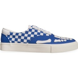 Amiri Men's Checkered Low-Top Sneakers - Blue White - Size 47 (14) found on MODAPINS from Saks Fifth Avenue for USD $595.00