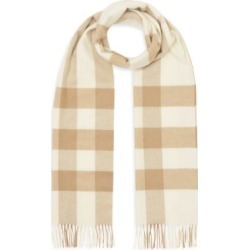 Check Cashmere Scarf found on Bargain Bro UK from Saks Fifth Avenue UK