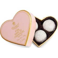 Charbonnel et Walker Pink Heart Box with Pink Marc de Champagne Truffles found on Bargain Bro from Saks Fifth Avenue for USD $8.32