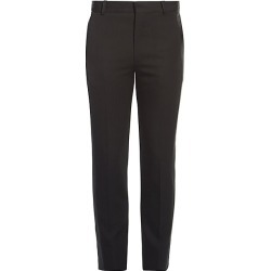 Alexander McQueen Men's Straight-Leg Wool Trousers - Black - Size 48 (32) found on MODAPINS from Saks Fifth Avenue for USD $830.00