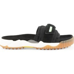 Off-White Men's Oddsy Minimal Slide Sandals - Black - Size 12 found on MODAPINS from Saks Fifth Avenue for USD $222.00