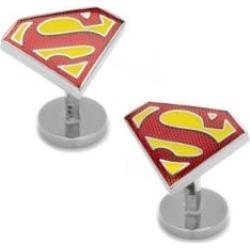 Boutons de manchette texturés portant le logo de Superman