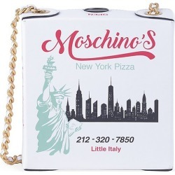 Moschino Women's Pizza Box Leather Crossbody Bag found on Bargain Bro Philippines from Saks Fifth Avenue for $995.00