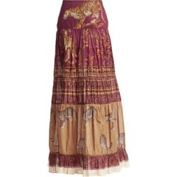 The Last Kashmiri Printed Maxi Skirt found on Bargain Bro Philippines from Saks Fifth Avenue AU for $1192.65