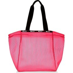 LeSportsac Women's Janis Clear Zip Top Tote - Pink