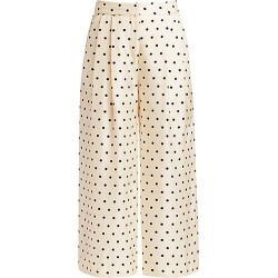Adam Lippes Women's Polka Dot Pleat-Front Silk Culottes - Polka Dot - Size 2 found on MODAPINS from Saks Fifth Avenue for USD $535.50