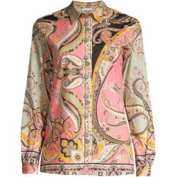 Paisley Stretch Cotton Shirt found on Bargain Bro Philippines from Saks Fifth Avenue Canada for $456.40