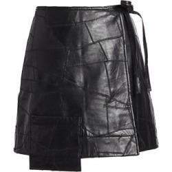 Patchwork Leather Wrap Skirt found on Bargain Bro Philippines from Saks Fifth Avenue AU for $466.46