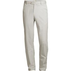 Twill Flat Front Pants
