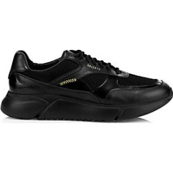 Axel Arigato Men's Genesis Leather Mesh Panel Platform Sneakers - Black - Size 46 (12) found on MODAPINS from Saks Fifth Avenue for USD $265.00
