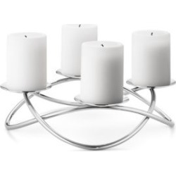 Season Large Stainless Steel Candle Holder found on Bargain Bro Philippines from Saks Fifth Avenue Canada for $134.29