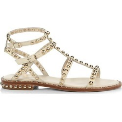 Ash Women's Precious Studded Leather Gladiator Sandals - Ivory - Size 35 (5) found on MODAPINS from Saks Fifth Avenue for USD $225.00