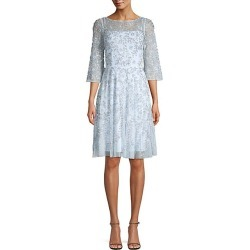 Aidan Mattox Women's Embellished Cocktail Dress - Blue - Size 2 found on MODAPINS from Saks Fifth Avenue for USD $167.99