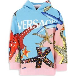 Versace Little Girl's and Girl's Tresor de la Mer Hoodie - Size 5 found on Bargain Bro from Saks Fifth Avenue for USD $433.20