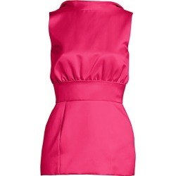 Brandon Maxwell Women's Wool Peplum Top - Bright Rose - Size 8 found on MODAPINS from Saks Fifth Avenue for USD $807.75