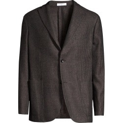 Boglioli Men's Regular-Fit Tonal Stripe Sportcoat - Brown - Size 46 found on MODAPINS from Saks Fifth Avenue for USD $597.49