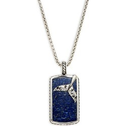 Sterling Silver & Lapis Pendant Necklace found on Bargain Bro Philippines from Saks Fifth Avenue OFF 5TH for $280.00