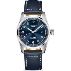 Longines Spirit Stainless Steel & Leather-Strap Watch found on MODAPINS from Saks Fifth Avenue AU for USD $2275.72