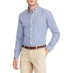 Classic-Fit Gingham Oxford Shirt found on Bargain Bro India from The Bay for $89.99