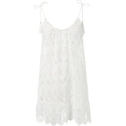 Melissa Odabash Women's Ana Lace Beach Dress - White found on MODAPINS from Saks Fifth Avenue for USD $154.00