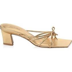 Marissa Metallic Leather Knotted Sandals found on Bargain Bro from Saks Fifth Avenue Canada for USD $159.04