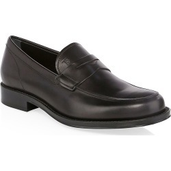Tod's Men's Leather Penny Loafers - Black - Size 6.5 UK (7.5 US) found on Bargain Bro India from Saks Fifth Avenue for $495.00