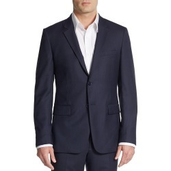 Theory Men's Regular-Fit Xylo NP Wool Suit Separates Sportcoat - Charcoal - Size 36 R found on Bargain Bro India from Saks Fifth Avenue OFF 5TH for $249.99