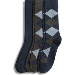 3-Pack Argyle Dress Crew Socks found on Bargain Bro Philippines from The Bay for $19.00