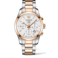 Longines Men's Conquest Classic Automatic Stainless Steel and Gold Cap 200 Bracelet Watch found on MODAPINS from Saks Fifth Avenue for USD $5100.00