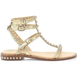 Ash Women's Play Studded Metallic Leather Gladiator Sandals - Ariel - Size 36 (6) found on MODAPINS from Saks Fifth Avenue for USD $157.50